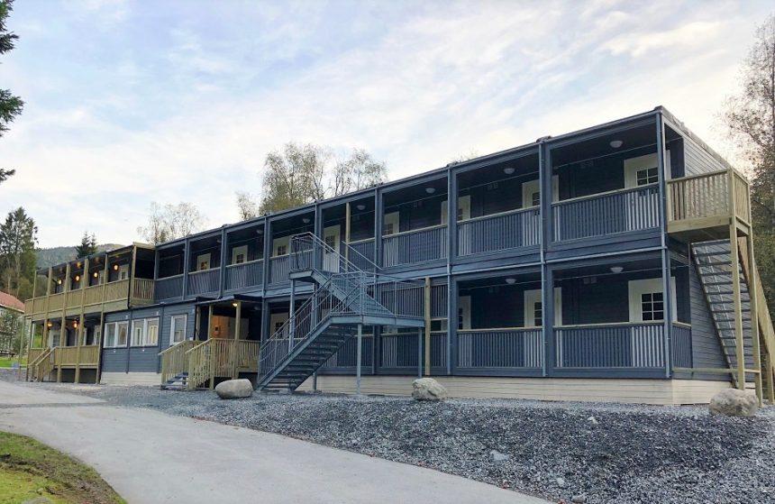 Hybelrigg på utleie til UWC på Flekke i Sunnfjord