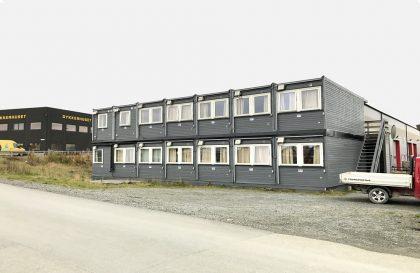 Portable cabins at Husøy – Karmøy