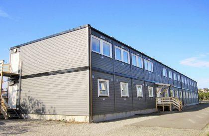 Accommodation rig at Kværner Stord
