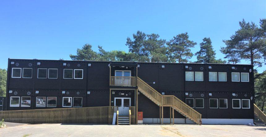 Fjelltun Skole – midlertidig skolebygg til Strand Kommune